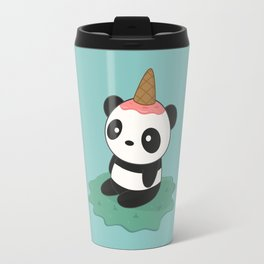 Kawaii Cute Panda Ice Cream Travel Mug