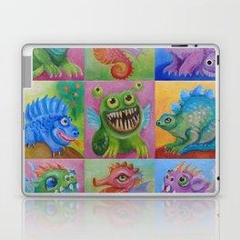 Baby Dragon Funny Monster Comic Illustration Painting for children Nursery decor Laptop & iPad Skin