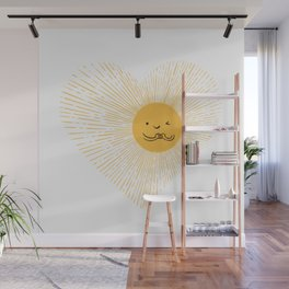 You are the Sunshine of my heart Wall Mural