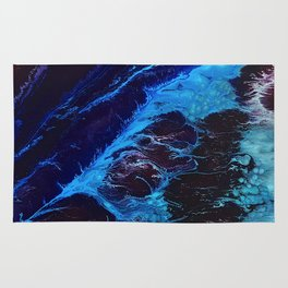 Cosmic Waves Rug