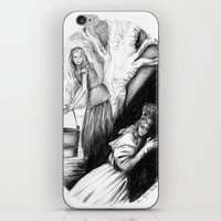 les mis iPhone & iPod Skins featuring Les Mis From A Beginning To An End - Cosette by Flávia Marques