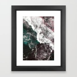 Abstract Sea, Water Framed Art Print