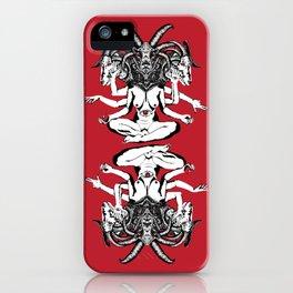 Woman is a Devil iPhone Case