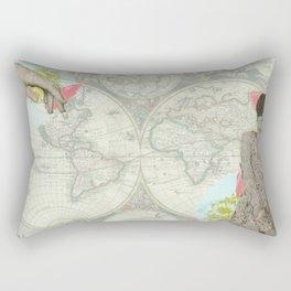 Feminine Collage I Rectangular Pillow