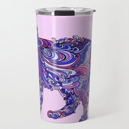 Fox by Night Travel Mug