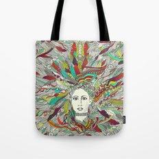 Goddess Aurora Tote Bag