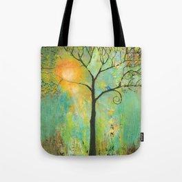 Hello Sunshine Tree Tote Bag