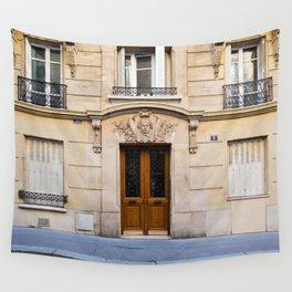 PARIS DOORS: NO. 6 (Paris, France) Wall Tapestry