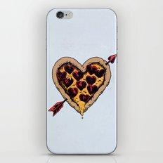 Pizza Love iPhone & iPod Skin