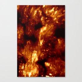 Brown Bokeh Canvas Print