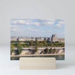 Panoramic view of Paris Mini Art Print