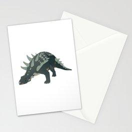Ankylosaurus Dinosaur Stationery Cards