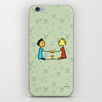 gemini iPhone & iPod Skins featuring Gemini by Giuseppe Lentini