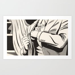 NOIR no.01 (REACH) Art Print