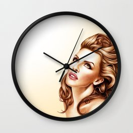 Kylie Minogue - Into The Blue Wall Clock