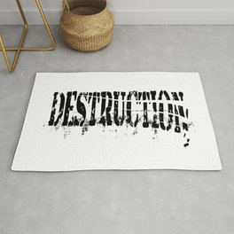 Destruction Rug