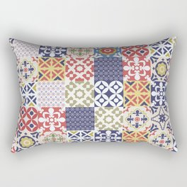 Portuguese pattern color Rectangular Pillow