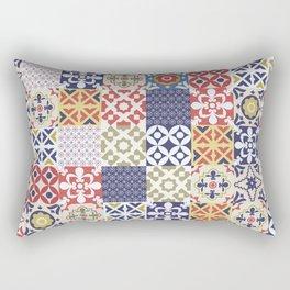 Portuguese pattern color Rectangular Pillow