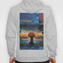 Vectorized Illustration Art Where It All Starts and Begins by The Illustrated,Allman-1994 May 3 Brothers Vectored,Band-34500 Vector Design Hoody