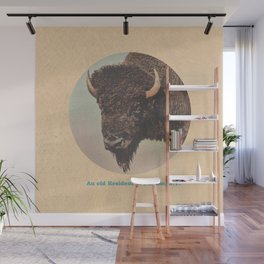 An old Resident of Buffalo, New York Wall Mural