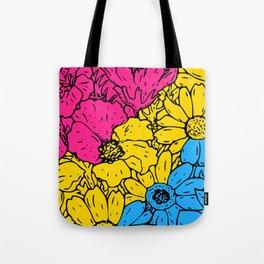 Pansexual Flowers Tote Bag