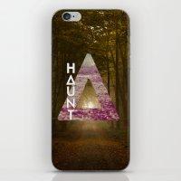 bastille iPhone & iPod Skins featuring Bastille - Haunt by Thafrayer
