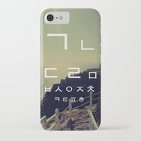 korean iPhone & iPod Cases featuring korean alpha by Alison Kim
