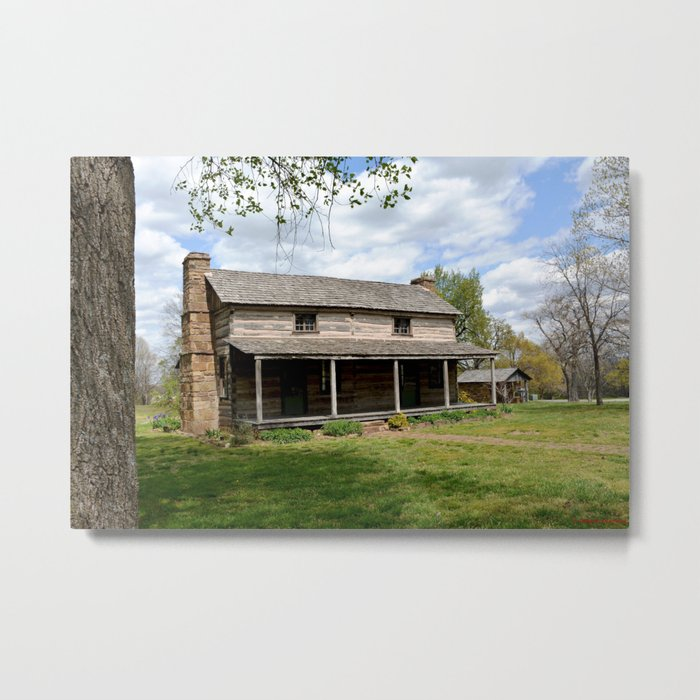 Prairie Grove Battlefield - The Latta Homestead, Established in 1834, No. 2 of 5 Metal Print