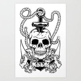 Davey NYX Art Print