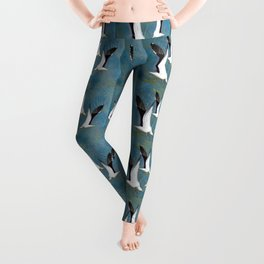 Jeffy Seagull Leggings