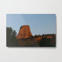 Devils Tower, WY Metal Print