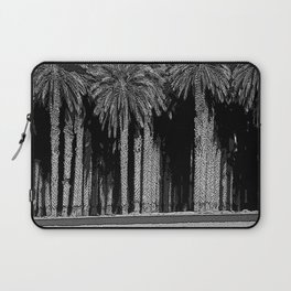 Black & White Date Palms Yuma Pencil Drawing Photo Laptop Sleeve