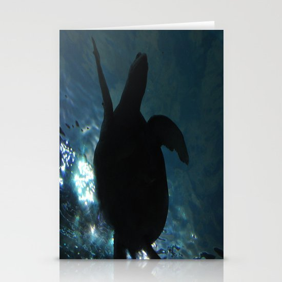 Deep Turtle Stationery Cards