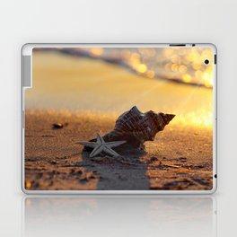 Golden Summer on the Beach Laptop & iPad Skin