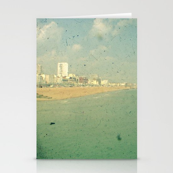 City by the Sea Stationery Cards