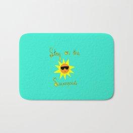 Stay on the Sunnyside Bath Mat
