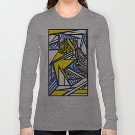 Abstract destijltribal  Long Sleeve T-shirt