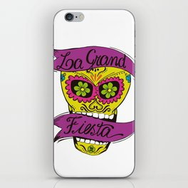 La Grand Fiesta iPhone Skin