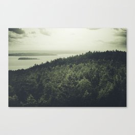 A perfect goodbye Canvas Print
