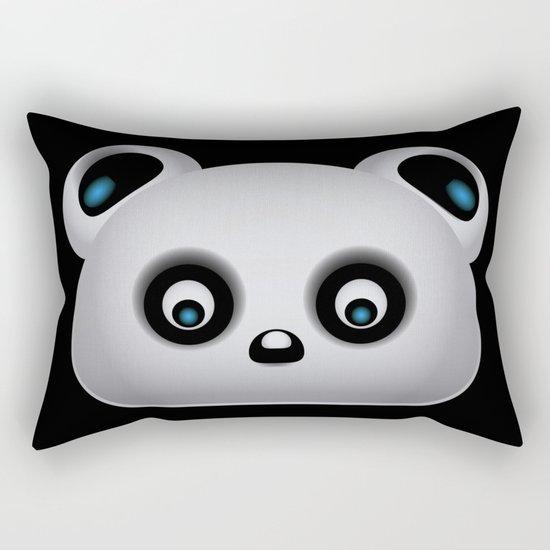 Panda Bear Rectangular Pillow