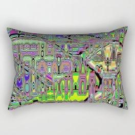 Gumby Loves Gidget B Rectangular Pillow