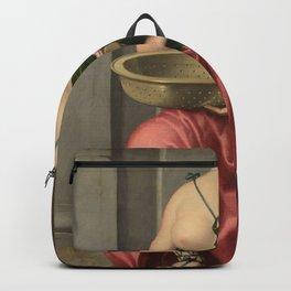 Giovanni Battista Moroni - The Vestal Virgin Tuccia Backpack