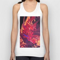 royal Tank Tops featuring Royal by Claire Day