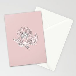 Queen Protea Stationery Cards