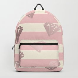 Diamonds & stripe Backpack