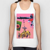 cigarettes Tank Tops featuring Filtered Cigarettes by AF Knott