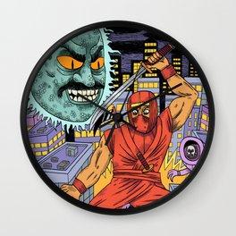 Shinobi Wall Clock