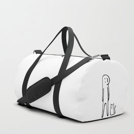 Happy one, Cat person Duffle Bag