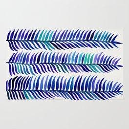 Indigo Seaweed Rug