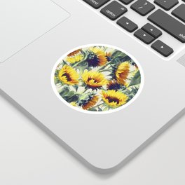 Sunflowers Forever Sticker